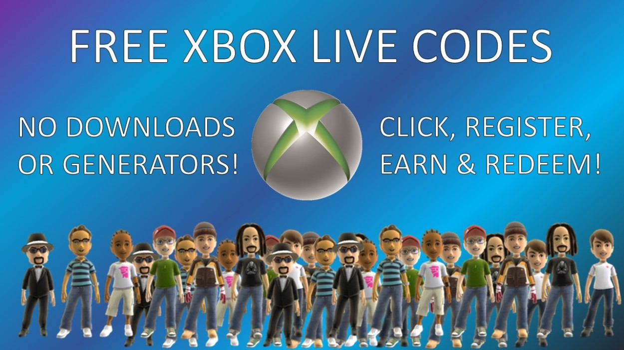 How to get free Xbox Live codes? – FREE GAME CODES